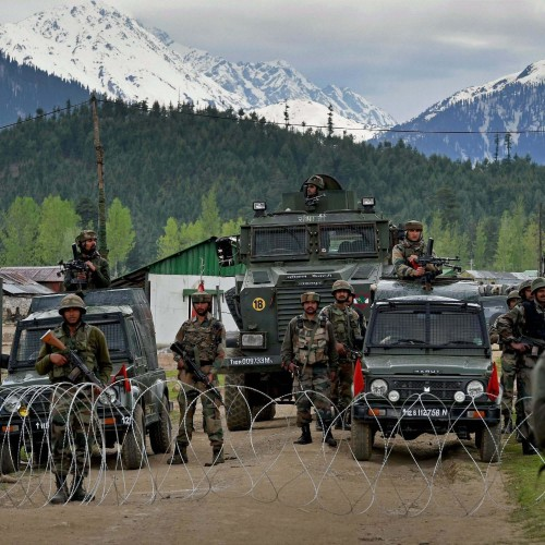 Indian army regiment in jammu and kashmir