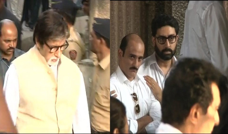 Amitabh Bachchan, Rishi Kapoor, Subhash Ghai Paid Last Tribute To Actor Vinod Khanna