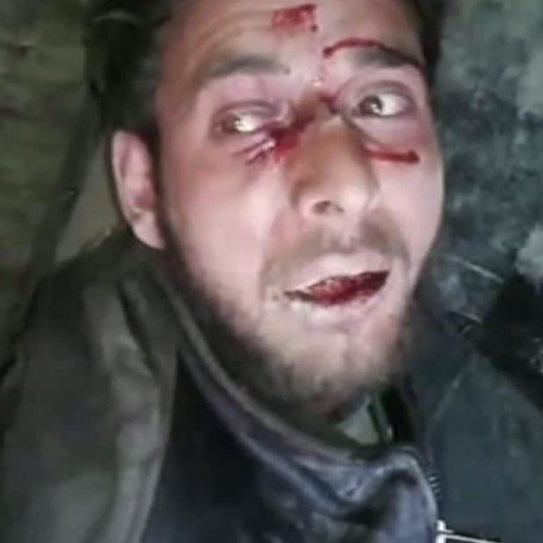 terrerist caught alive in anantnag