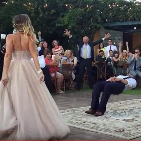 beautiful bridal dance