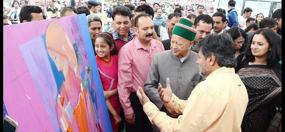 बस एक रैली से हिमाचल में जीत की गलतफहमी में न रहे भाजपा : सीएम