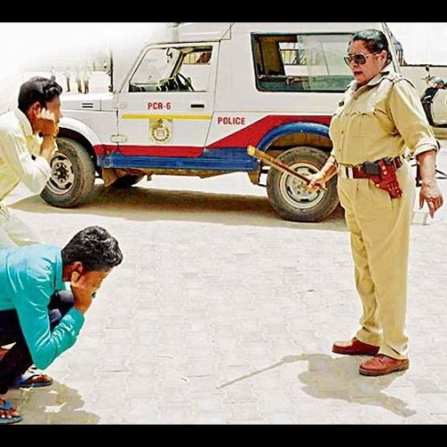 operation durga in rewari, molestator boys beaten by lady police officer