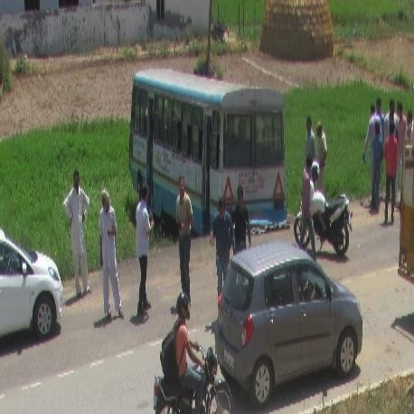 bus accident in haryana