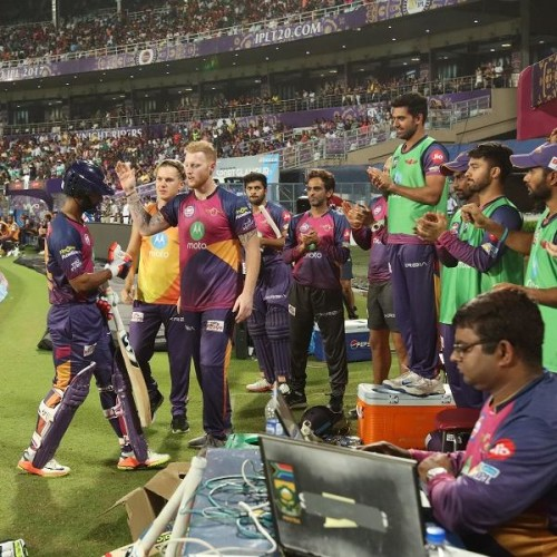 RPS Players Rahul Tripathy And Shardul Thakur Have Hit 6 Sixes in An Over