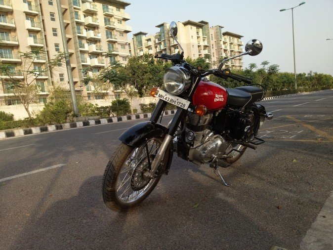 Road test review of Royal Enfield Classic 350 Redditch