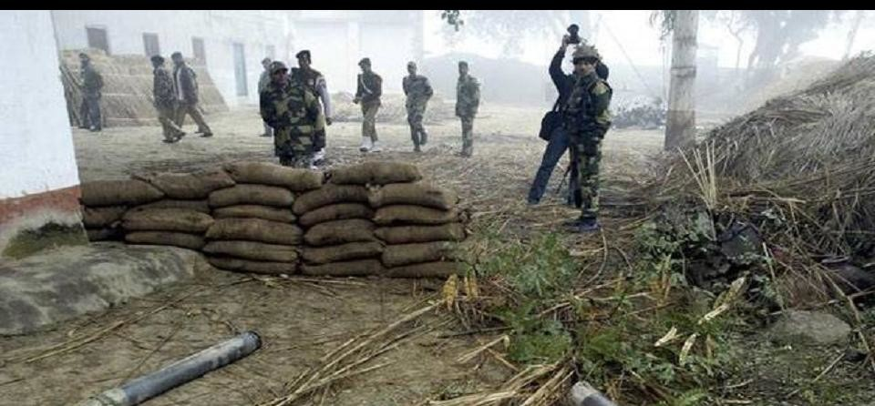 Indian army The Pak bunker was destroyed near the Krishna Ghati sector
