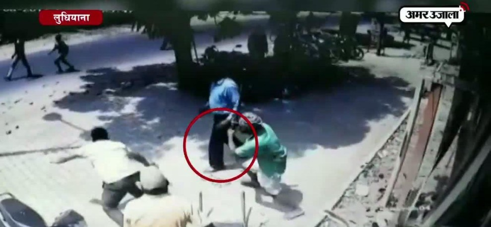 Caught on cam: Congress worker attacked by armed assailants in Ludhiana