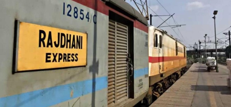 railway personnel planned to accident rajdhani train in mirzapur
