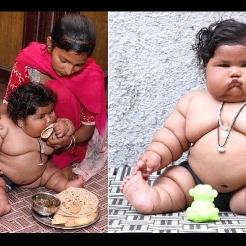 india's heaviest girl child chahat treatment in chandigarh pgi