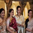 Actress Rekha's sisters, one real sister, five step sisters from Gemini Ganesan, rekha family tree
