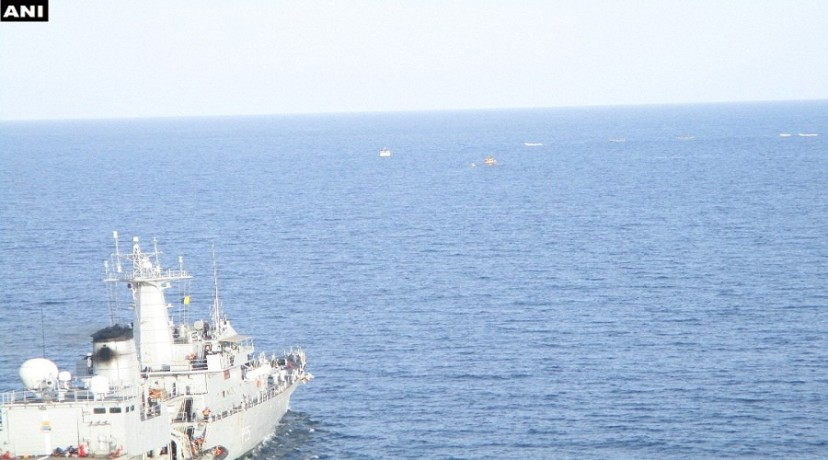 INS Sharda fought off pirates at the Gulf of Aden