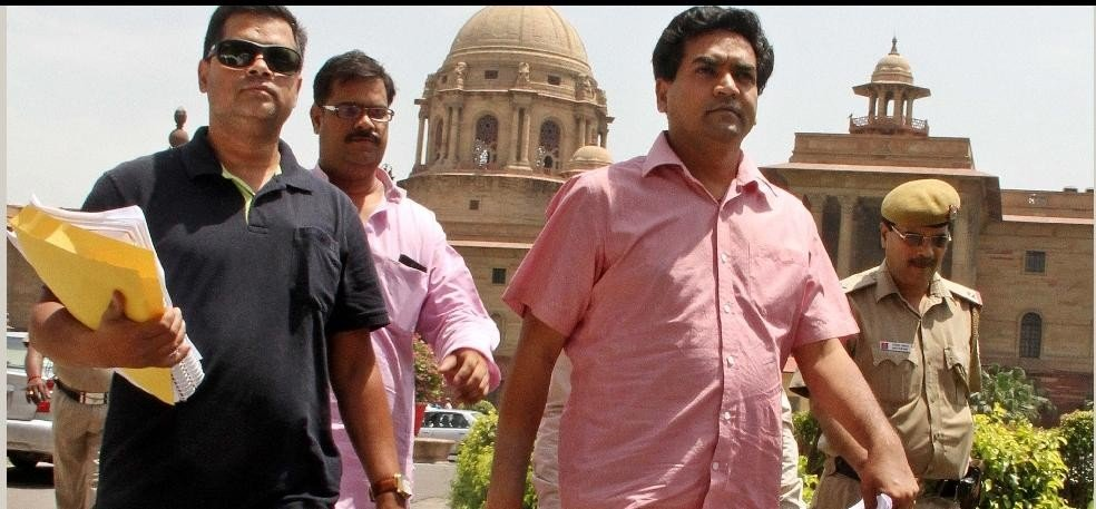 kapil mishra again attacks on delhi cm arvind kejriwal and AAP