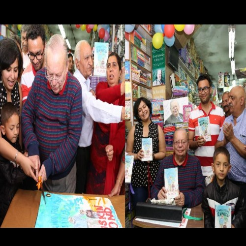ruskin bond 83 birthday celebration in mussoorie