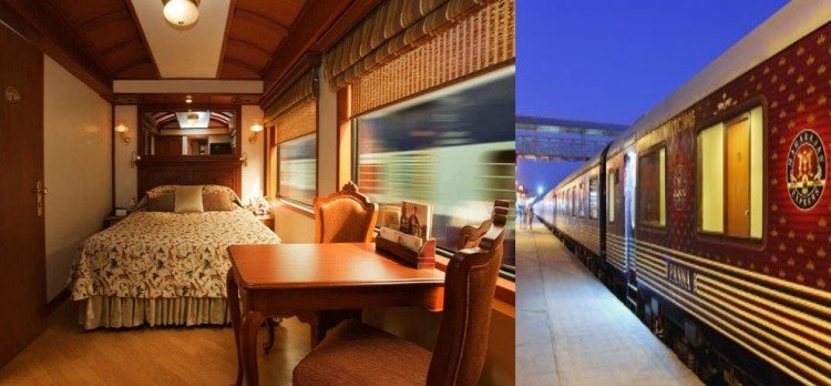 india 6 luxury trains and their facilities with fare