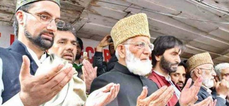 GOVERNMENT TO TAKE ACTION ON SEPARATISTS IN KASHMIR
