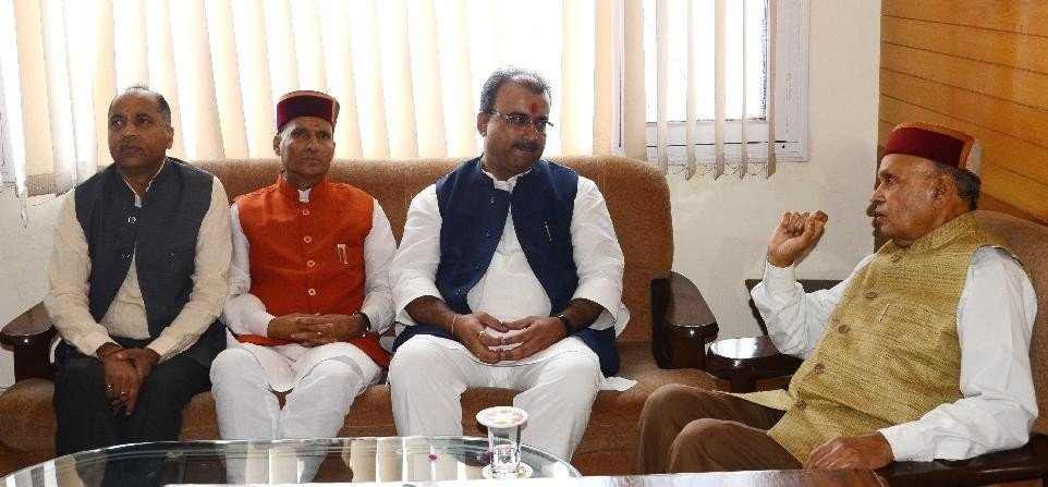 BJP Himachal Incharge Magal Pandey First Meeting at Shimla.