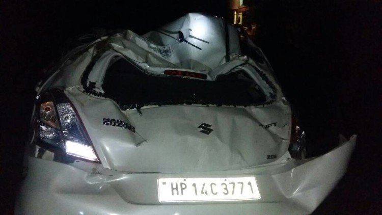 Two killed in Car Accident at Chail, Solan.