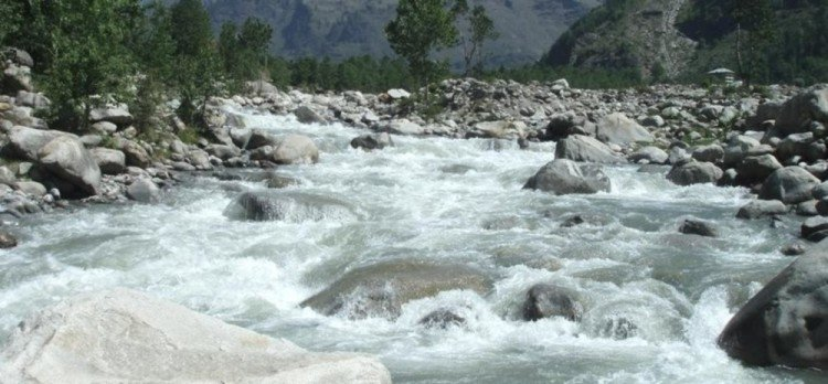Silt coming from Nepal changed the nature of rivers
