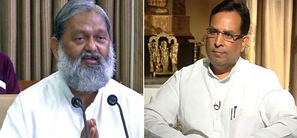 Rai sports school issue, anil vij vs captain abimanyu