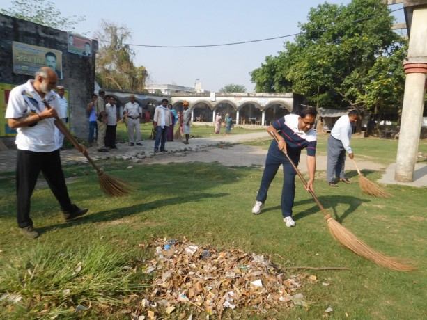 DM-CDO set broom, done Shramdan
