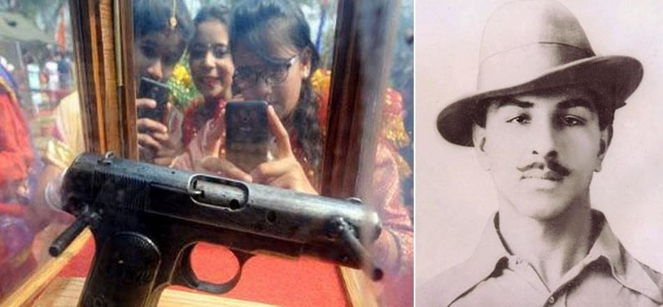 bhagat singh pistol reached in punjab