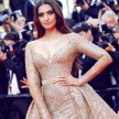 Cannes 2017:Sonam Kapoor looks stunning in her Golden Avtar