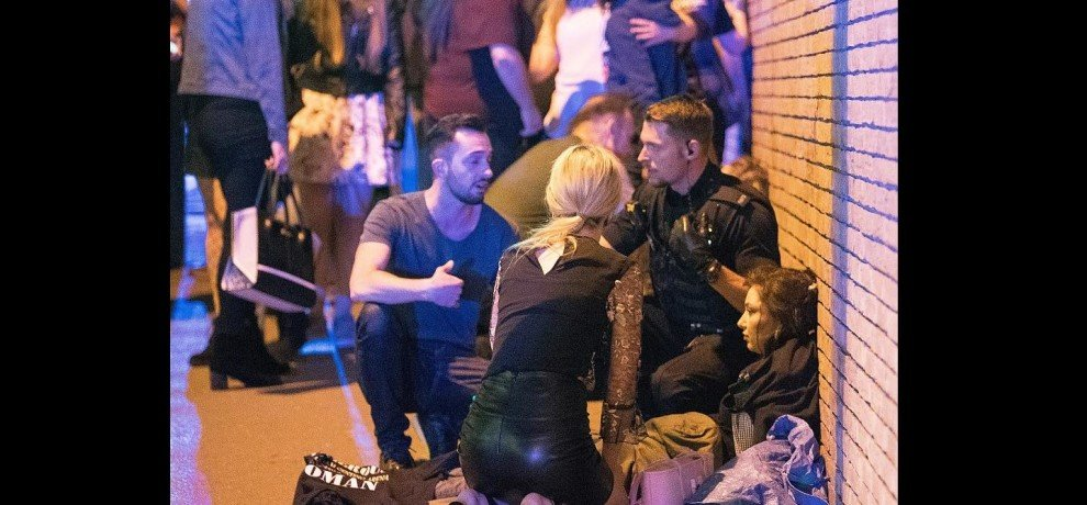 Who was the 22 year old man who was attacked in Manchester?