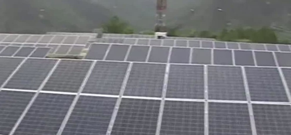 Biggest solar power plant of Himachal Pradesh set up in Rampur