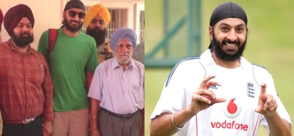 Monty Panesar came to his house for the first time