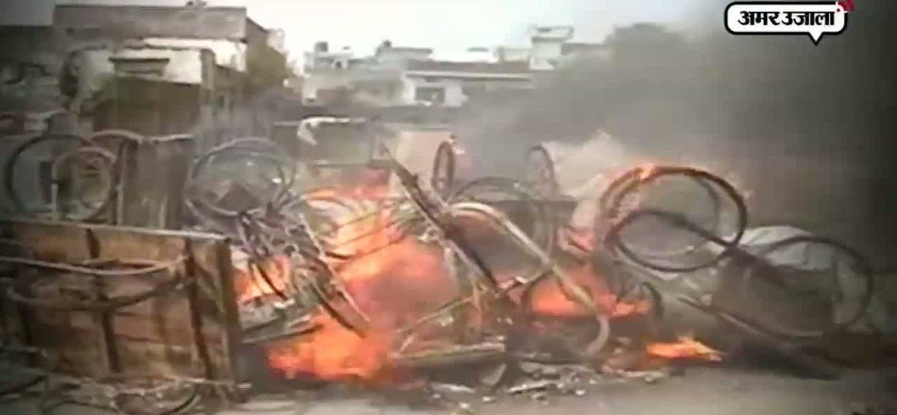 full story of erupted violence in saharanpur