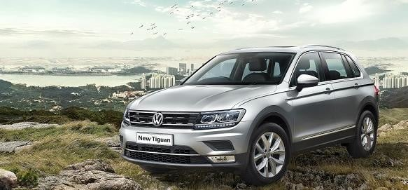 Volkswagen tiguan launch at 27.98 lakhs ex showroom delhi