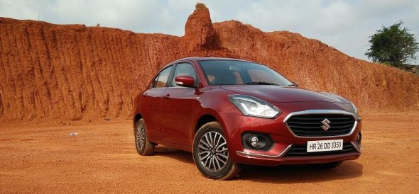 Road Test Review of New Maruti Suzuki Dzire in goa