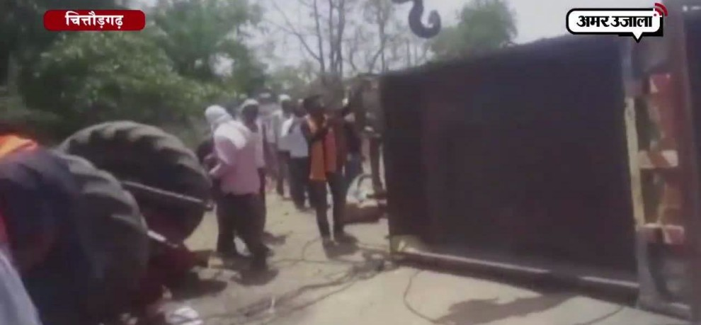 11 DEAD IN CHITTORGARH AFTER TROLLEY OVERTURNS