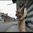 shutdown in several parts of Kashmir after hizbul commander sazbar bhat killed in encounter