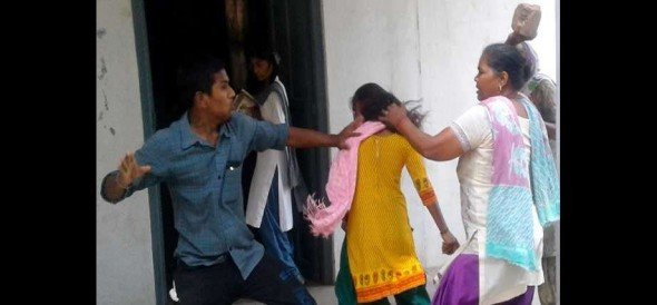 fail students beaten topper school girl at patiala