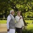 'Good Interaction' Says PM Narendra Modi After Meeting With Angela Merkel in Germany