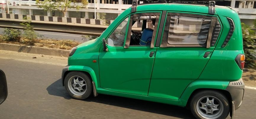 Bajaj is ready with new qute to start new segment quadricycle in India