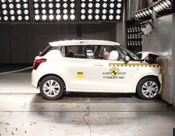 NCAP Crash test, swift secure 3 points and kodiaq achieved 5