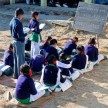 villagers demand for teachers in school for long time