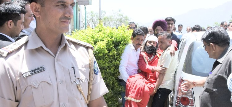 Disputed baba amar dev arrested