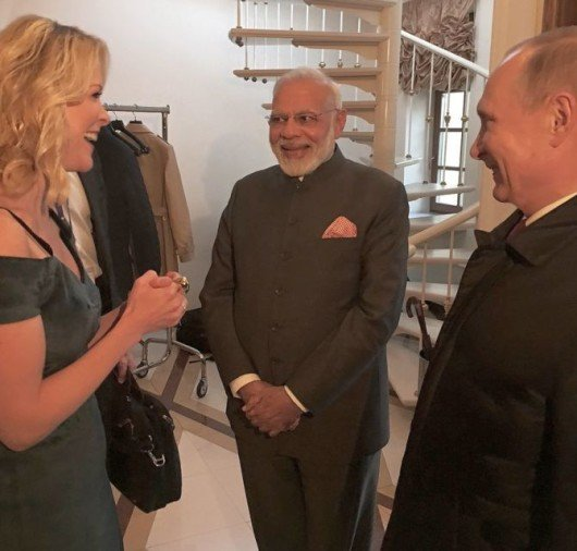 are you on twitter megyn kelly asked pm modi