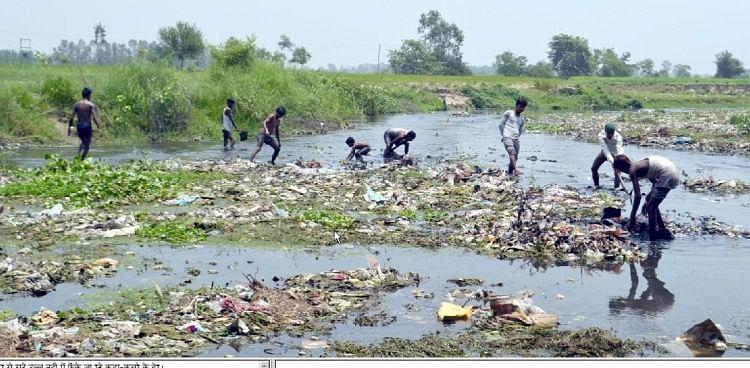 Image result for यमुना नदी में घुल रहा इस शहर का जहर