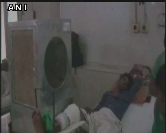 cooler installed in srn hospital before yogi adityanath visit