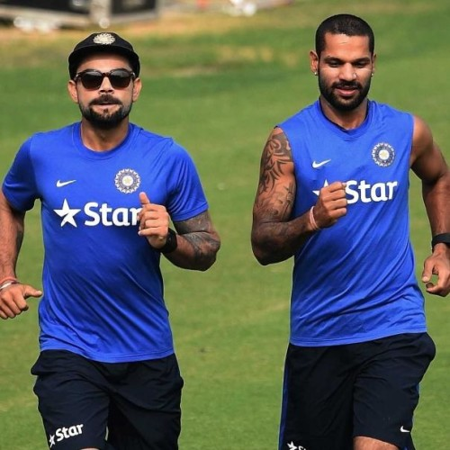 Shikhar Dhawan Takes Over Virat Kohli In BCCI Revenue Share