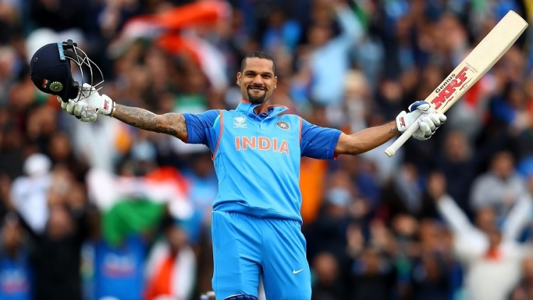 Indian Cricket team Opener Shikhar Dhawan collided with bike before australia match