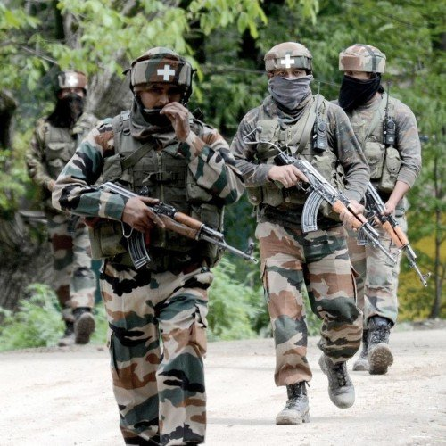indian army order of shoot at sight on intruders entry in army camp, units