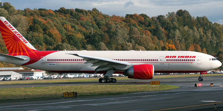 Air India launches direct flight to Washington from New Delhi