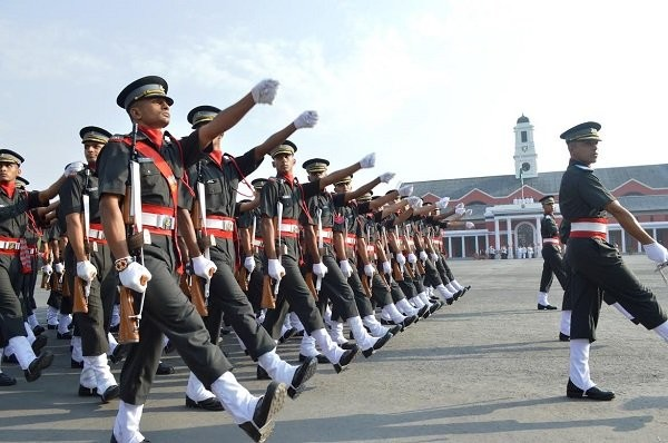 passing out parade in indian military academy dehradun