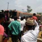 bus accident in balrampur in Uttar Pradesh.