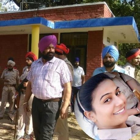 protest after women constable suicide in ludhiana